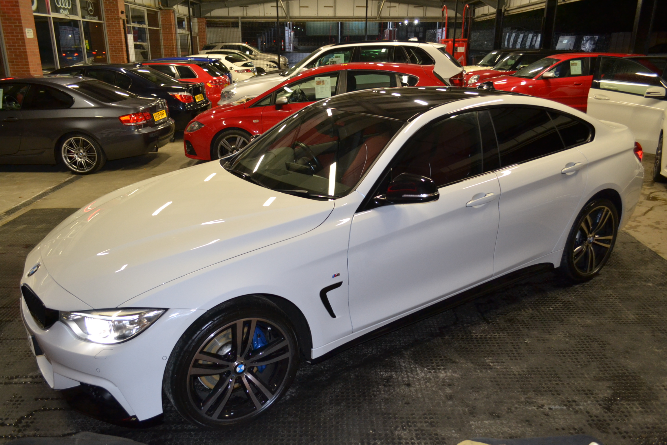 Sold Bmw 4 Series 2 0 420d M Sport Gran Coupe 2014 Used Car Sales Yorkshire