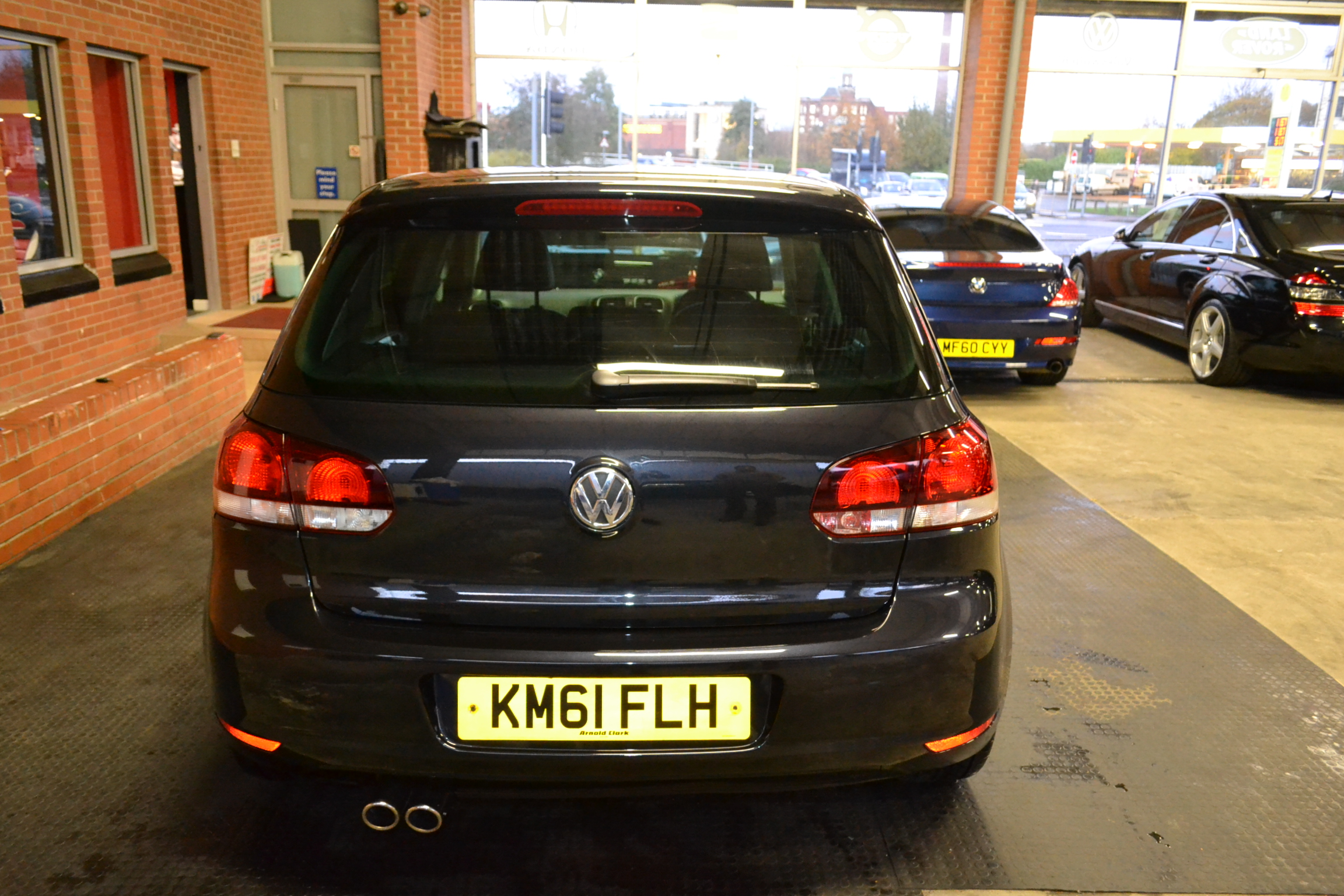 2011 61 Reg Volkswagen Golf 2 0 TDI GT 5dr Black Leather